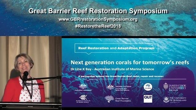 Dr Line Bay – the next generation of corals for tomorrow's reefs - video thumbnail